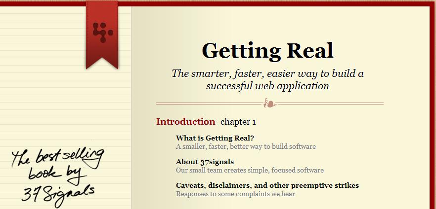 انتشار کتاب «واقعی شدن، روش هوشمندانه تر، سریع تر و ساده تر برای ساختن برنامه های وبی موفق»
